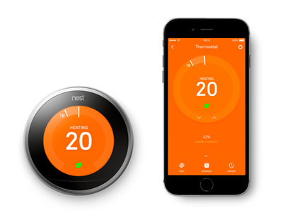 NEST Central Heating Control