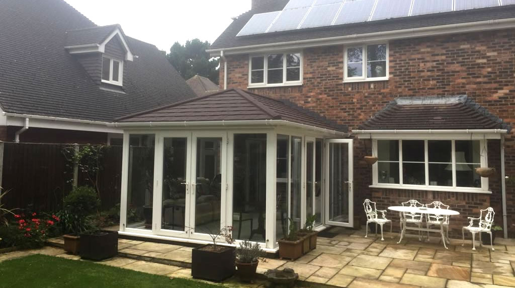 Light Weight Tiled Conservatory Roof Apple Home Improvements
