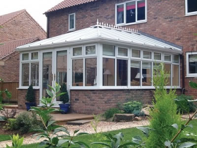 How are bespoke conservatories designed?