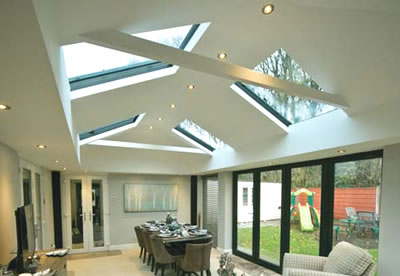 Replacement Conservatory Roof Interior