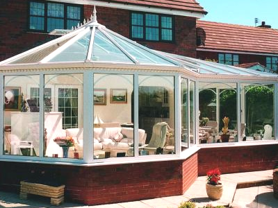 P Shape Conservatories Apple Home Improvements