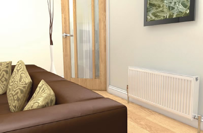 Central Heating Radiator Replacement