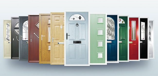 Composite Door Colours