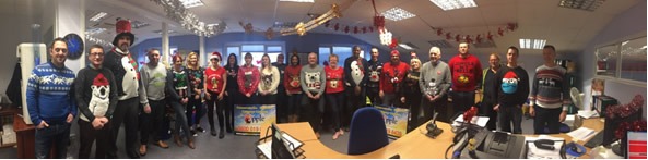 Christmas Jumper Day Mannequin Challenge