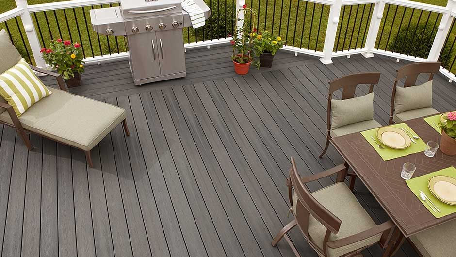 Earl Grey Composite Decking