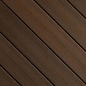 Espresso colour decking