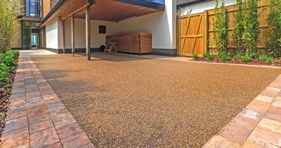 Resin Patio Area