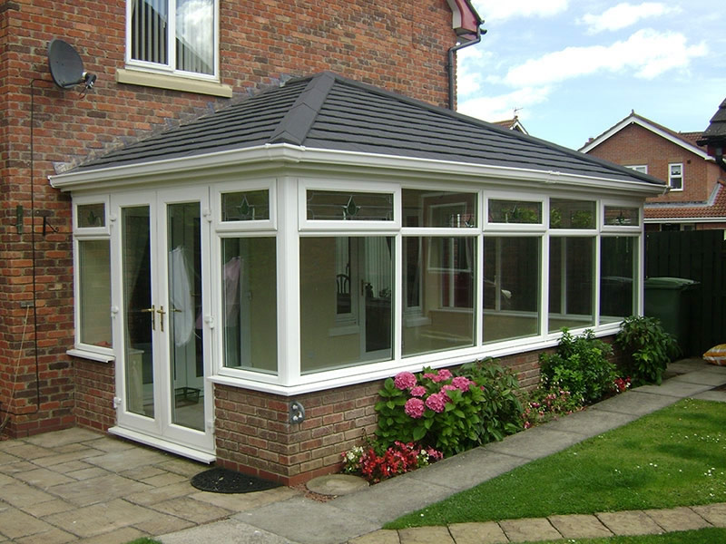 Tiled conservatory roof Apple Home Improvements