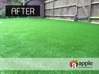Artificial Grass Project After