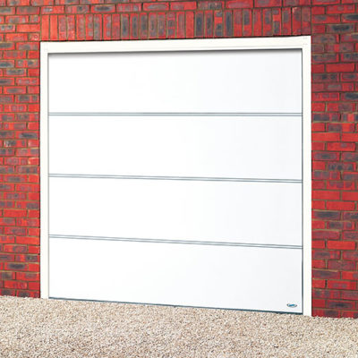 Flush Sectional Steel Garage Door