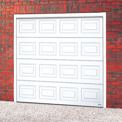 Georgian Panelled Sectional Steel Door