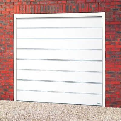 Large Rib Sectional Garage Door