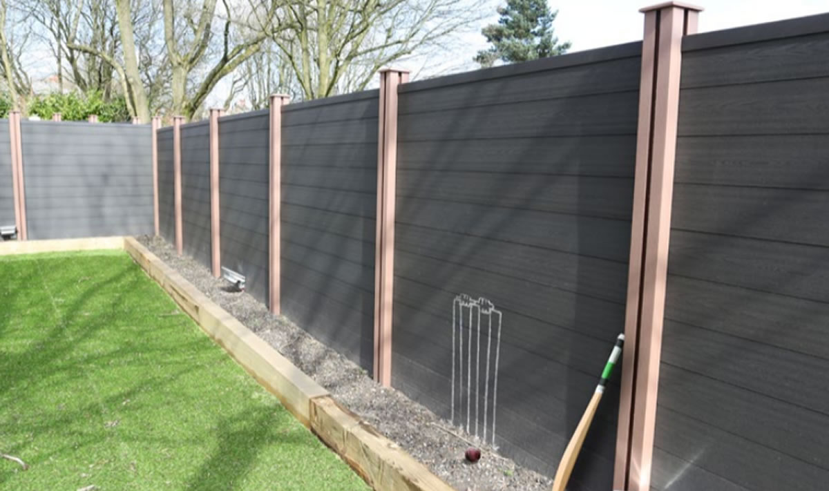 Composite Fencing Solution Apple Home Improvements